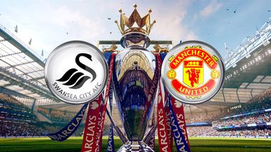 Swansea host Manchester United at the Liberty Stadium, live on Super Sunday on Sky Sports