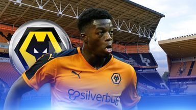 Dominic Iorfa: New Wolves contract
