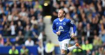 Wayne Rooney: Enters the field - for Everton
