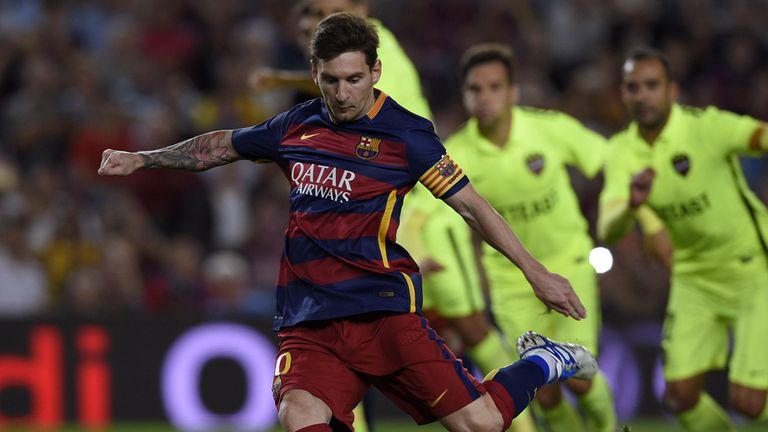 Lionel Messi has returned to full training ahead of El Clasico