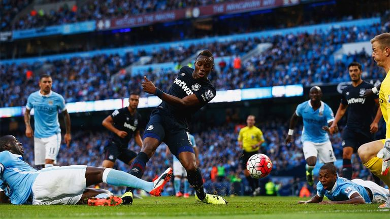 West Ham left the Etihad Stadium with a 2-1 win earlier this season