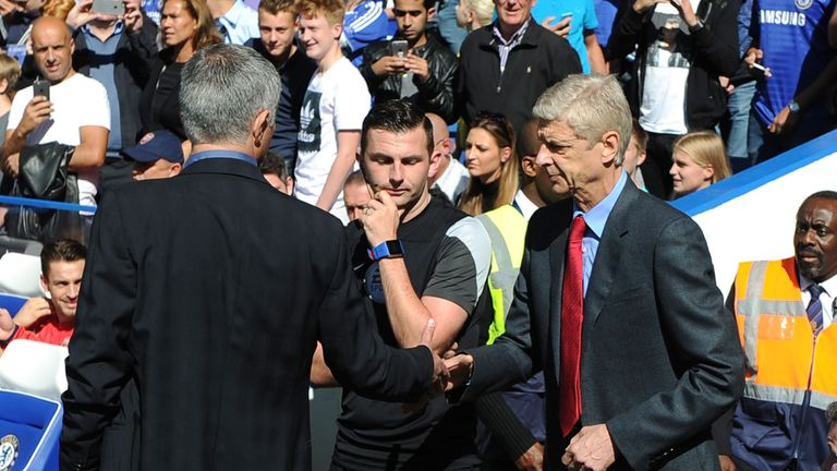 Wenger's Arsenal were beaten once again by Jose Mourinho's Chelsea