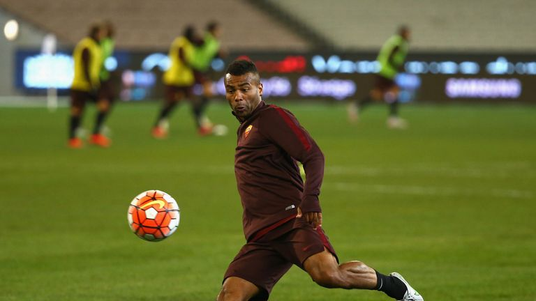 Roma defender Ashley Cole is swapping Italy for LA