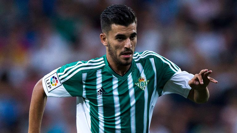 Real Betis midfielder Dani Ceballos to undergo medical for Real Madrid