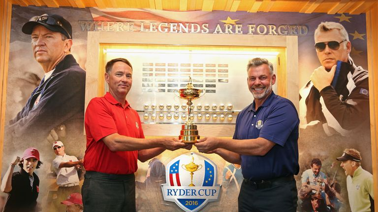 Davis Love III and the USA will face a Europe team captained by Darren Clarke next year