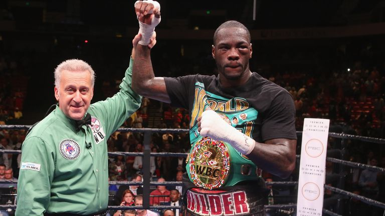 Wilder kept hold of his WBC heavyweight title with an 11th round stoppage of Frenchman Duhaupas