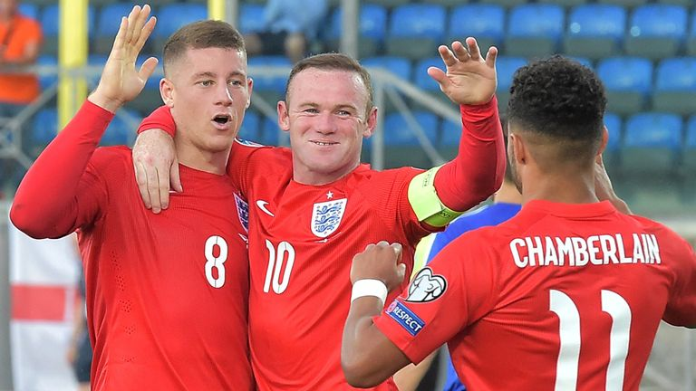 Ross Barkley (left) has impressed for England recently