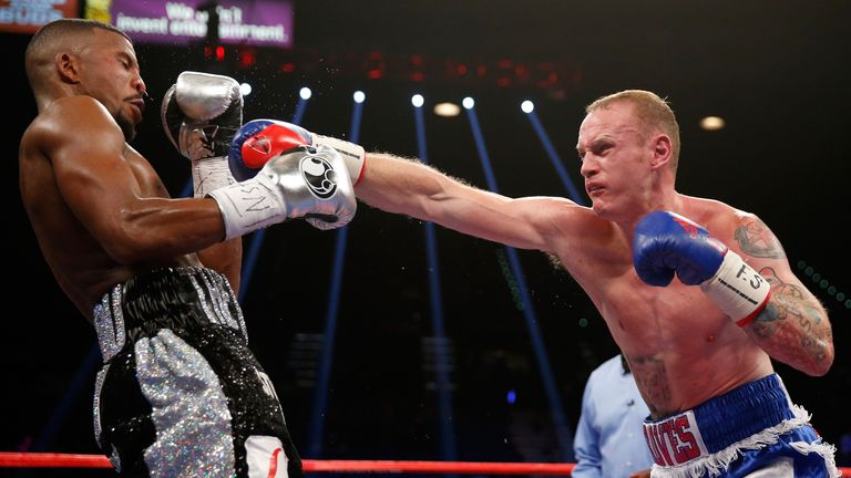 George Groves lost a split decision to WBC champion Badou Jack on the undercard of Floyd Mayweather's farewell fight in  Las Vegas in September