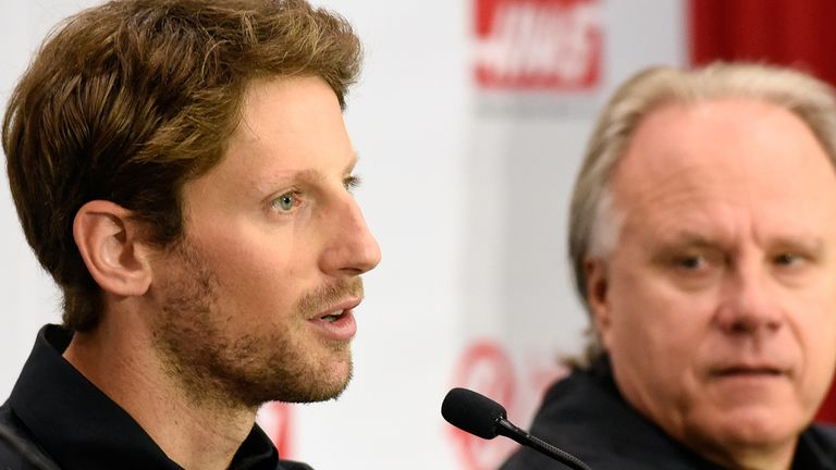 Haas admits he's done better than expected in signing Romain Grosjean