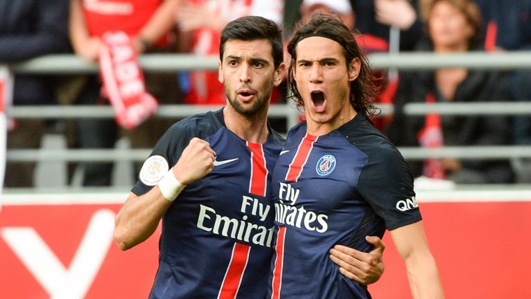 Javier Pastore was second to Dimitri Payet for Ligue 1 assists last season