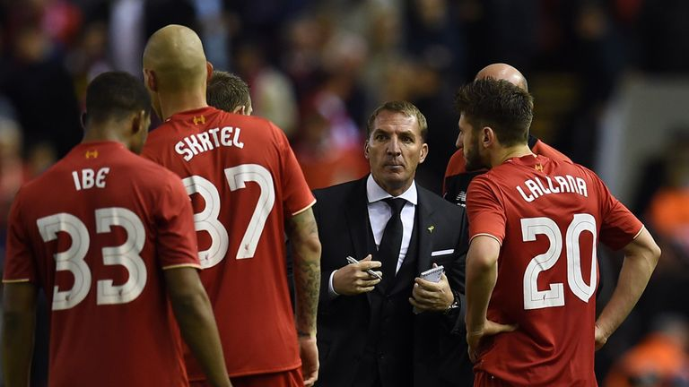 Rodgers was proud of his time in charge at Anfield