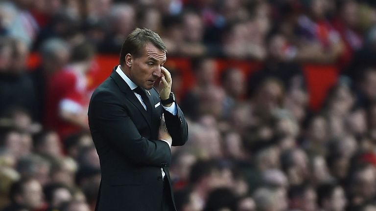 Liverpool manager Brendan Rodgers is under pressure