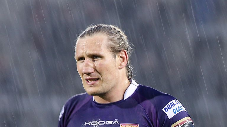 Eorl Crabtree returns for the Giants against Leeds