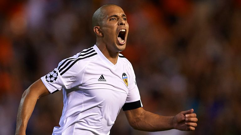 Sofiane Feghouli made his first start in over two months after his return from injury