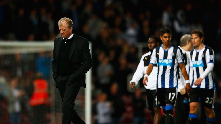 Steve McClaren is still winless at Newcastle