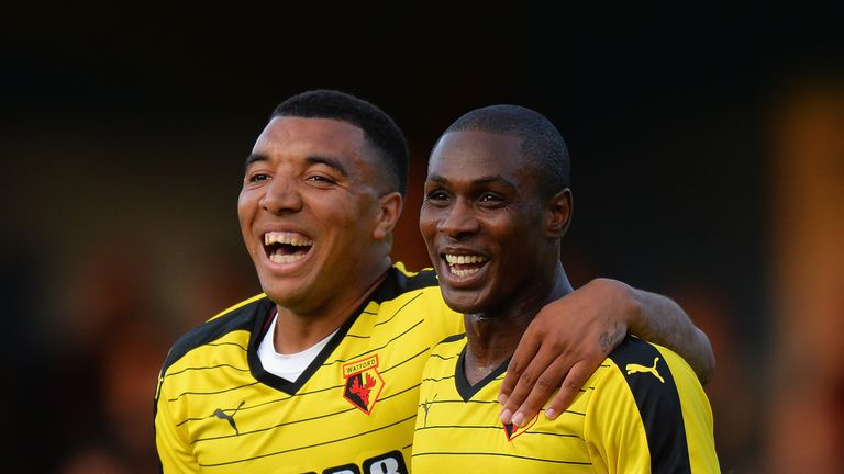 Troy Deeney and  Odion Ighalo have formed a lethal partnership for Watford