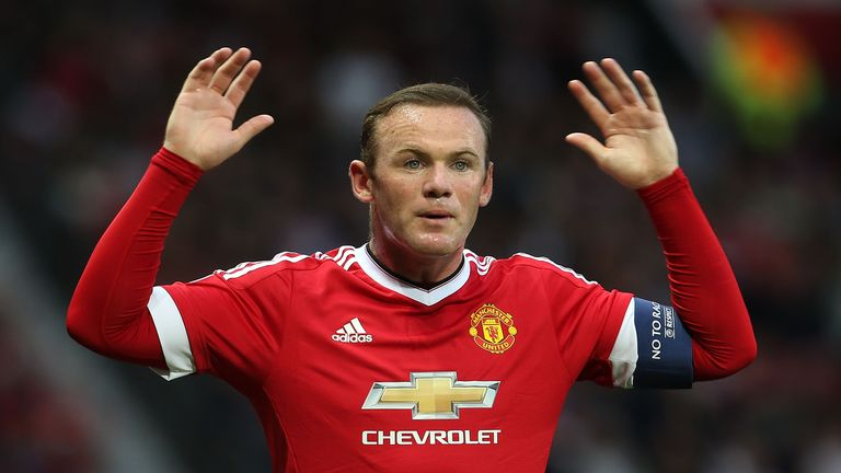 Wayne Rooney has been ruled out of the game with a suspected hamstring injury