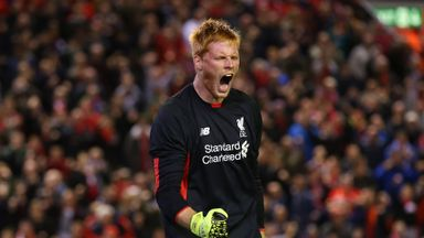 Adam Bogdan's only performances for Liverpool so far have come in the Capital One Cup