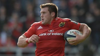 CJ Stander feels at home with Munster