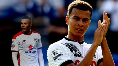 Dele Alli joined Tottenham after coming through the youth ranks at MK Dons
