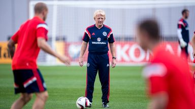 Gordon Strachan is looking ahead to World Cup qualifiers