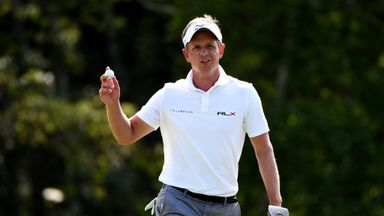 Luke Donald needs a top-11 finish to stay in the FedExCup