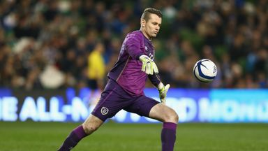 Shay Given misses the final qualifier in Warsaw
