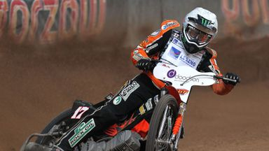 Tai Woffinden of Great Britain is world champion for the second time