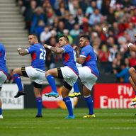 Are Samoa still considered minnows despite their star-studded team?