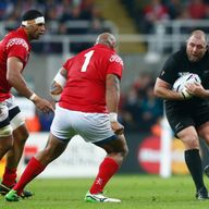 New Zealand prop Tony Woodcock will miss the rest of the World Cup with a hamstring injury