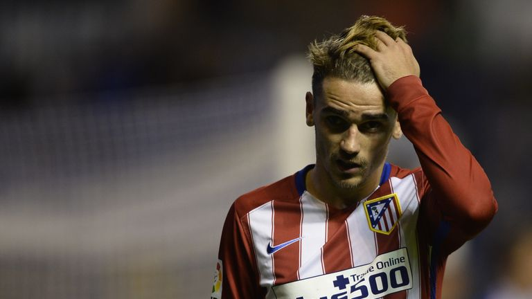 Antoine Griezmann has been the star man for Atletico