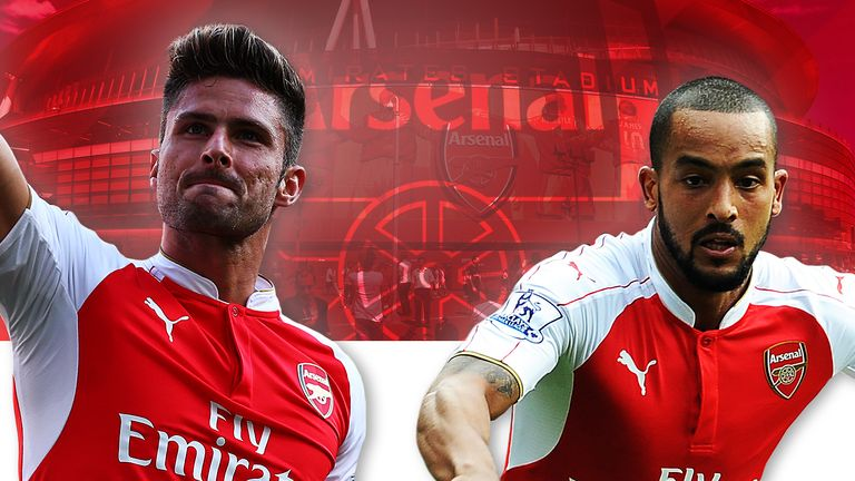 Does Arsene Wenger start with Olivier Giroud or Theo Walcott?