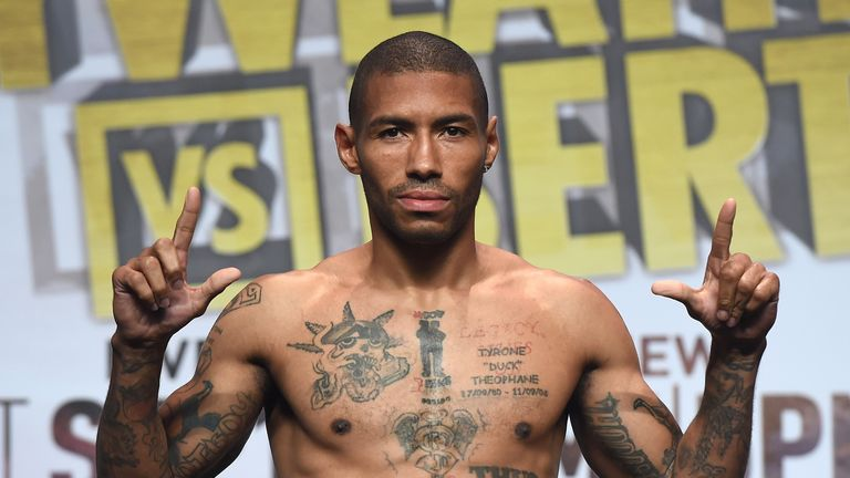 Ashley Theophane is under Mayweather's guidance