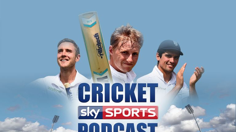 Listen to the latest Sky Cricket Podcast