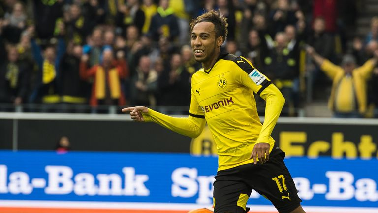 Aubameyang has scored 26 goals in 26 appearances this season for Borussia Dortmund