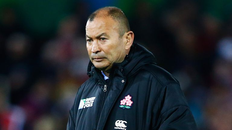 Eddie Jones, the outgoing coach of Japan