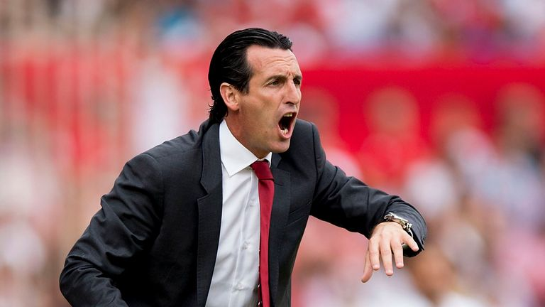 Unai Emery has won back-to-back Europa League titles at Sevilla