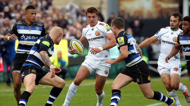 Henry Slade has featured heavily in Exeter's resurgence