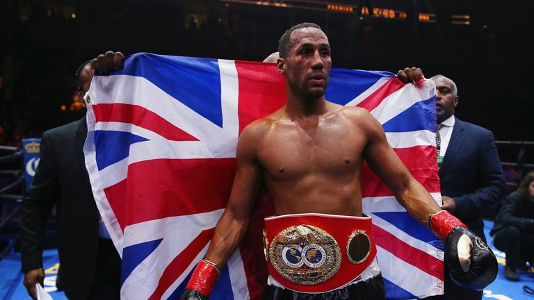 James DeGale is no longer the IBF super-middleweight world champion