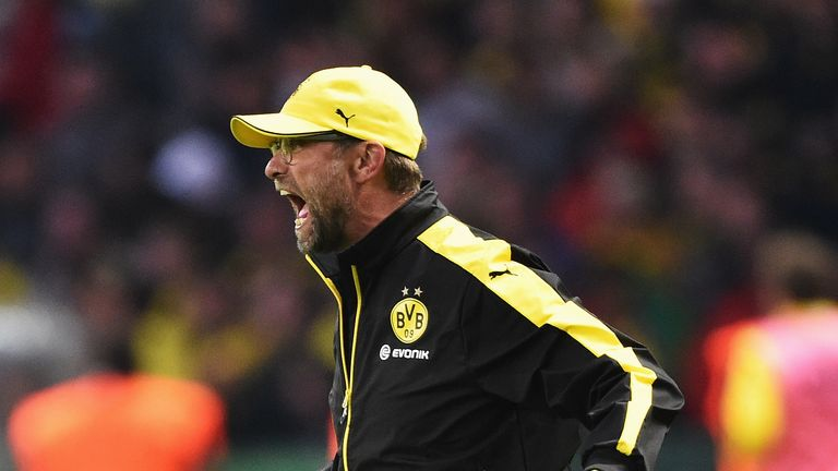 Klopp won two Bundesliga titles with Borussia Dortmund during a seven year period at the club.