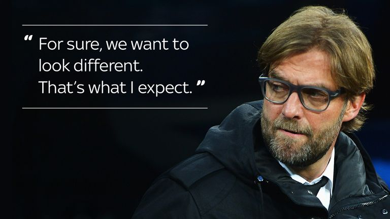 Klopp had set out his ambitions for Saturday in his opening press conference