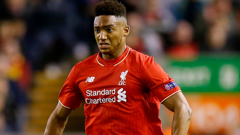 Liverpool's Joe Gomez is out for the season