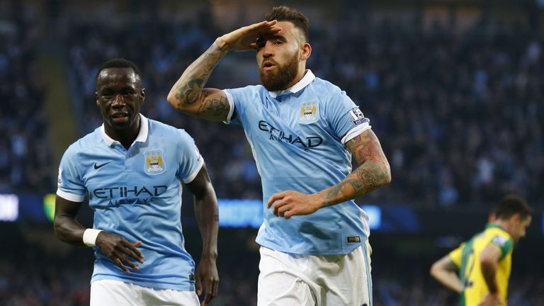 Nicolas Otamendi can be a big threat from set-pieces, as Norwich found out this season