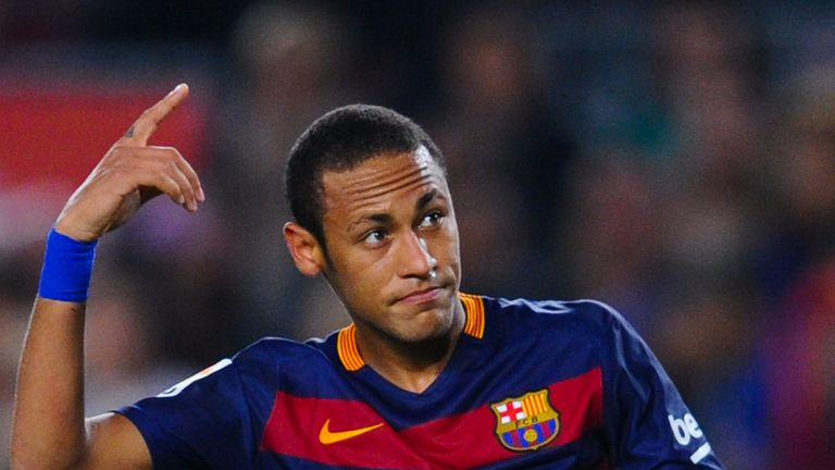 Neymar leads La Liga with 11 goals from 10 appearances