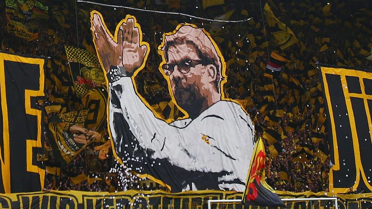 Klopp had a fantastic relationship with the Borussia Dortmund fans