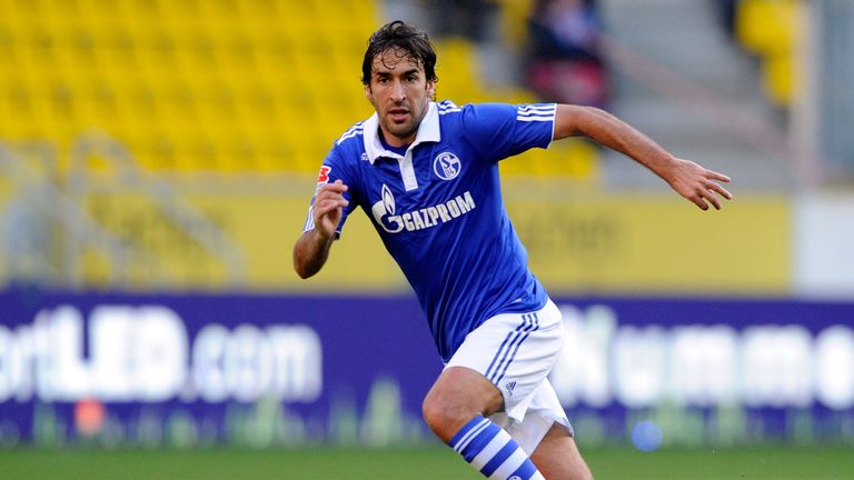 Image result for RAUL (REAL MADRID TO SCHALKE,