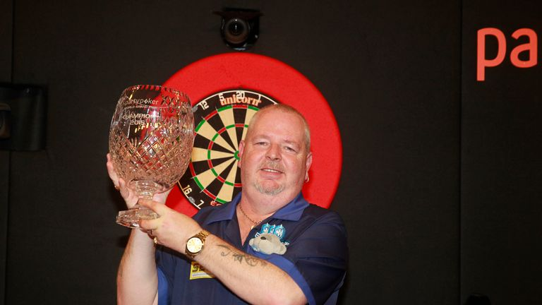 Robert Thornton triumphed at last year's Grand Prix