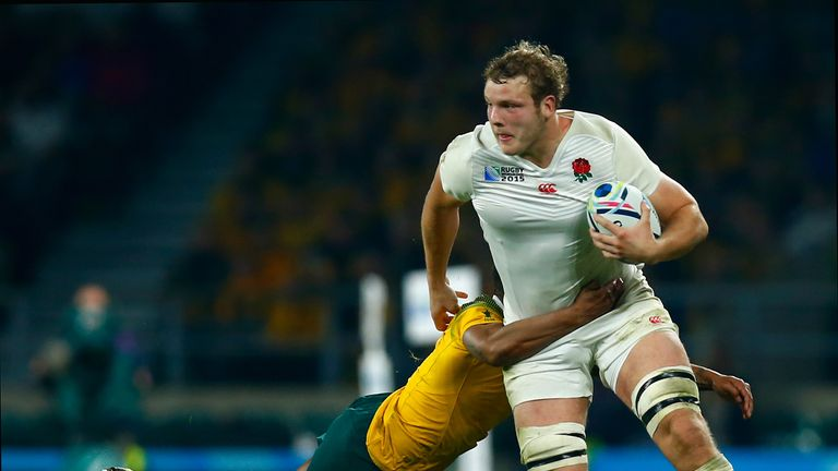 Joe Launchbury is admired by Will Greenwood