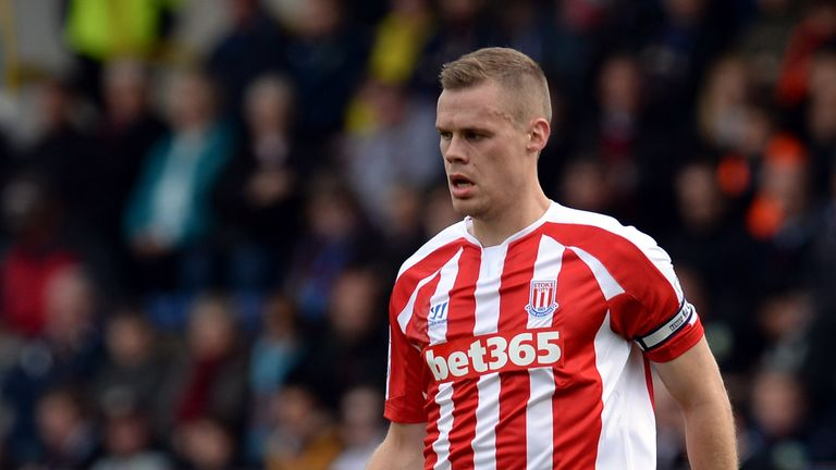 Ryan Shawcross isn't ready to return yet for Stoke