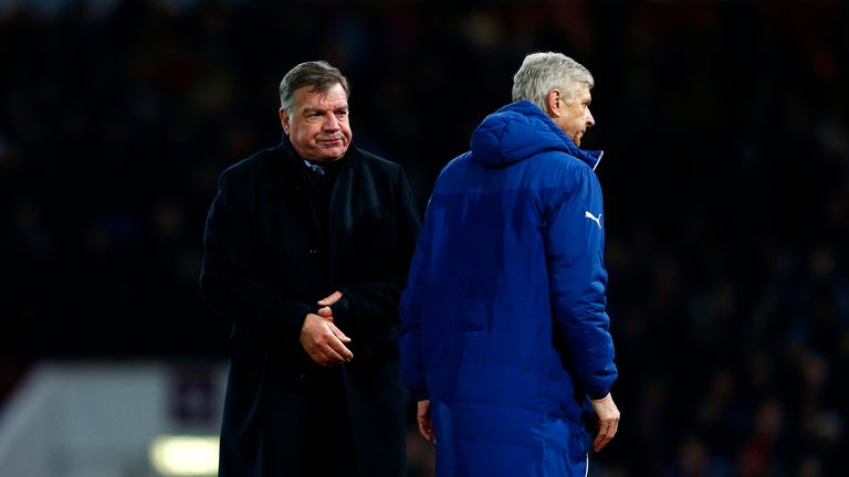 Allardyce claimed in his 2015 autobiography Wenger had an 'air of arrogance'